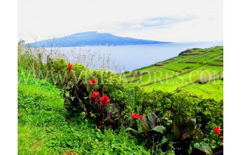 Faial - view of Pico island