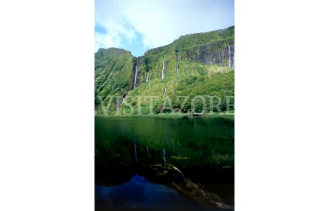 Waterfalls a symbol of Flores Island