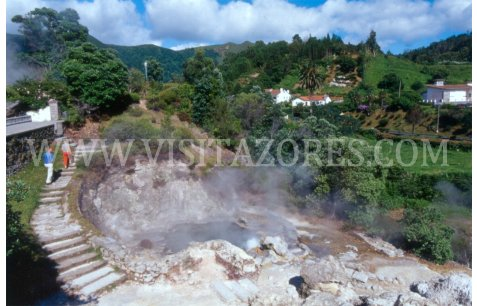 Furnas hot springs